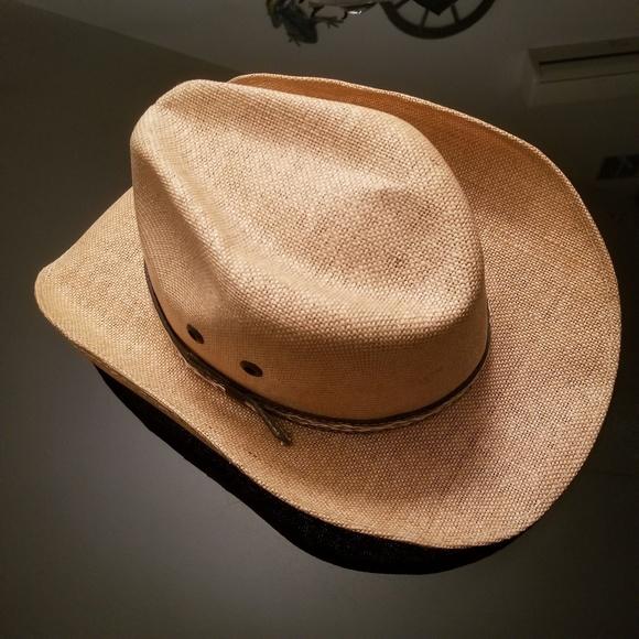 Jen West Straw Cowboy Hat size Small. M 5b79c6578ad2f97093d4b206 1f145cd52ce